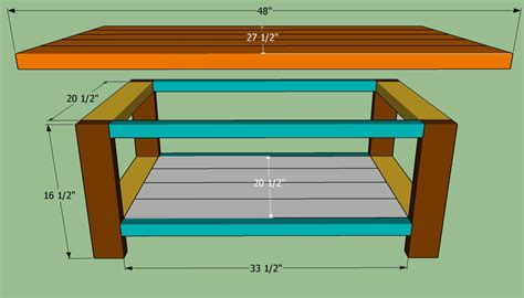 how to build a coffee table coffee table plans design images photos pictures