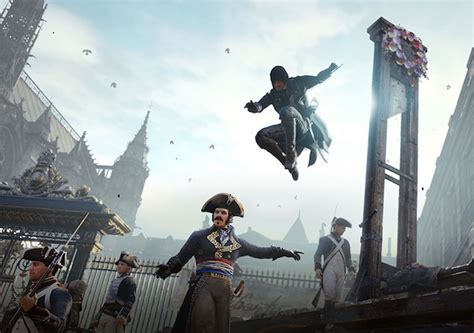 ubisoft compensates for assassin s creed unity bugs with free dlc technology news