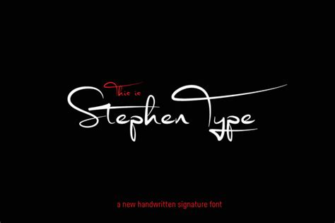 handwritten wedding invitations signature font stephen type logo