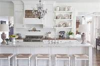 all white kitchen All White Kitchens - Inspiration and Makeovers