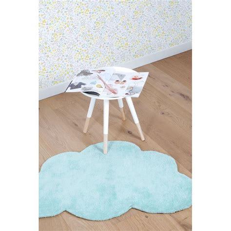 tapis bebe chambre tapis nuage aqua bleu pour chambre bébé de garçon par