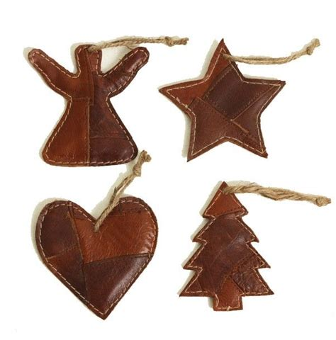 leather christmas decoration holidays parties