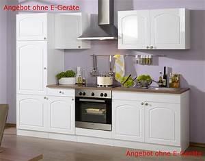 Küche 2 70 M : k chenzeile boston k chen leerblock breite 270 cm hochglanz wei k che k chenzeilen ~ Bigdaddyawards.com Haus und Dekorationen