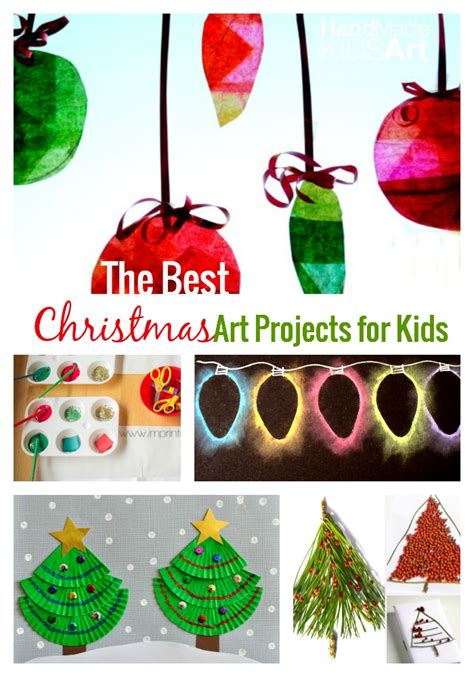 The Best Christmas Art Projects For Kids  Handmade Kids Art