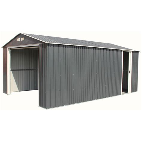 Metal Storage Shed Home Depot by Duramax Building Products Imperial 12 Ft X 20 Ft Metal