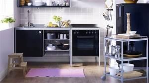 arredamento ikea cucina nera udden With meuble udden ikea