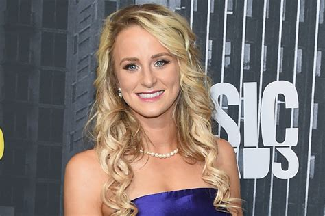Teen Moms Leah Messer Was 13 The First Time She Had Sex