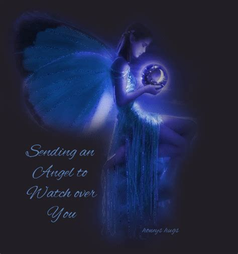 angels quotes god sending watching quotesgram