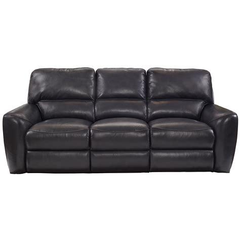 barcalounger stratford power reclining leather sofa wayfair