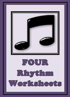 rhythm words worksheets images  ed