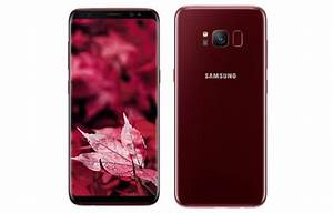 Samsung Galaxy S8 Burgundy Red Limited Edition launched in ...