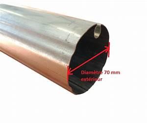 Tube Rectangulaire Acier Dimension : tube acier galvanis 70 mm paisseur 2 mm pour store banne ~ Dailycaller-alerts.com Idées de Décoration