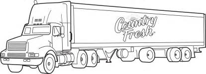 coloring page of truck search