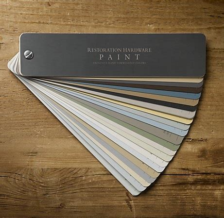 restoration hardware is my fave paint palette silver