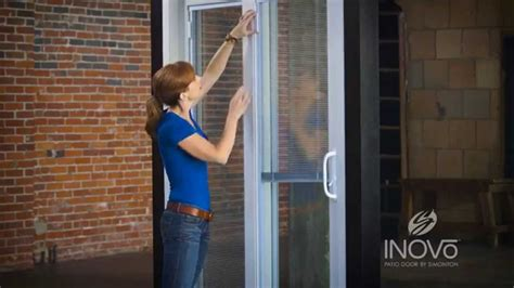 fix  blinds   patio door youtube