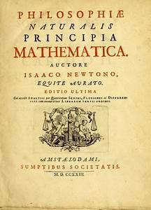 Newton's 'Principia' - a work in three books by Sir Isaac ...