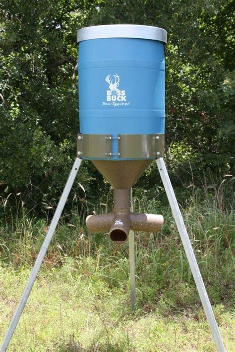 55 gallon drum deer feeder build your own gravity deer feeder parts