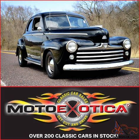 1947 Ford Business Coupe- Flat Head V8