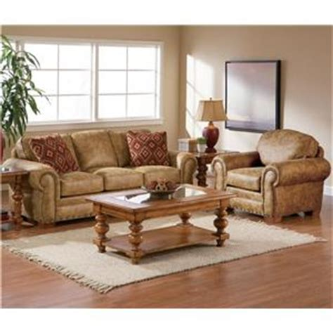 broyhill furniture cambridge casual style sofa with nail