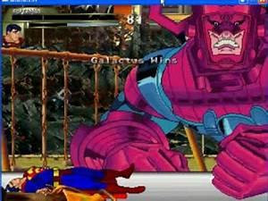 Grudge Match - Superman vs Galactus - YouTube