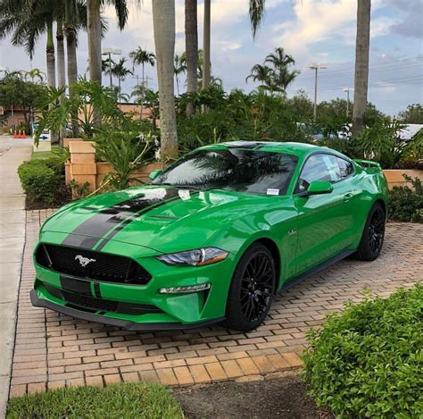 green  mustang thread page