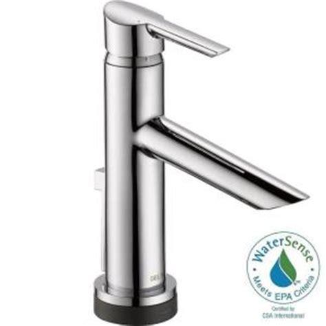 delta compel single hole single handle bathroom faucet