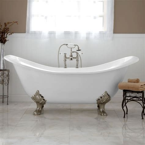 Modern Bathroom With Clawfoot Tub by Modern Clawfoot Tub Bathtub Designs