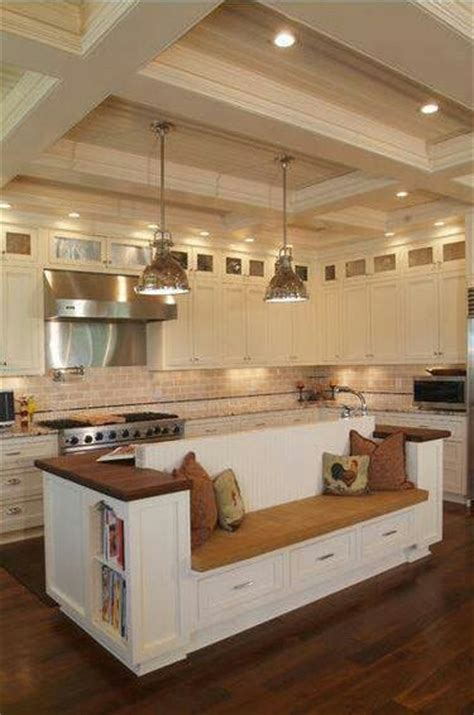 Kitchen Island Booth Ideas by Kitchen Booth For The Home