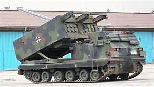 German M270 Multiple Launch Rocket System (M270 MLRS ...