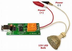 Usb One Channel Relay Pcb