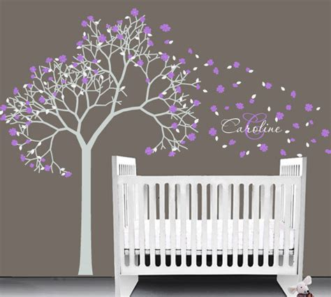 sticker arbre chambre b items similar to baby nursery vinyl decal tree wall