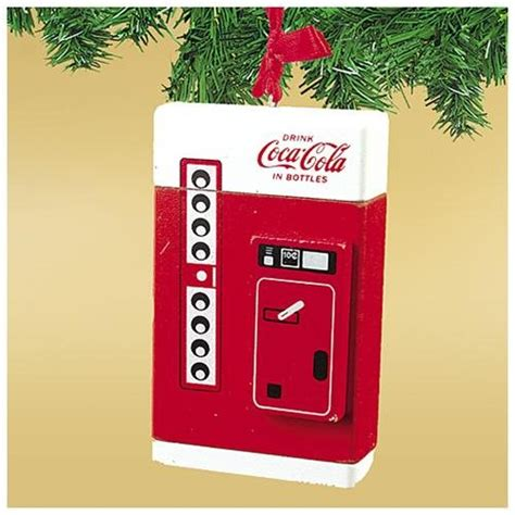 buy coca cola retro vending machine hanging ornament
