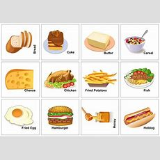 Sofi Loves English Food Vocabulary