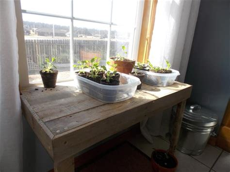 diy pallet window table pallet furniture plans