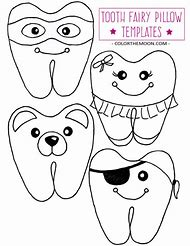 Best tooth template ideas and images on bing find what youll love tooth fairy pillow pattern printable maxwellsz