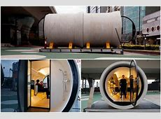 PHOTOS Opod, tube house built from new spare concrete