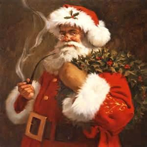 design bilderrahmen weihnachtsmann elfen baumschmücken geschenk für weihnachtsdeko