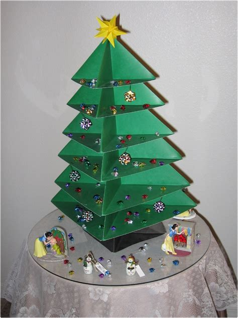 top  diy mini christmas trees  paper top inspired
