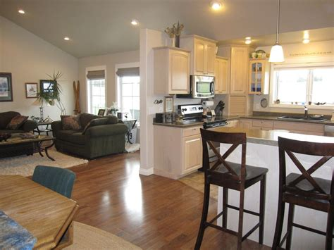 Kitchen Living Room Open Floor Plan Pictures by Living Room Floor Plans Kitchen Design Dining House