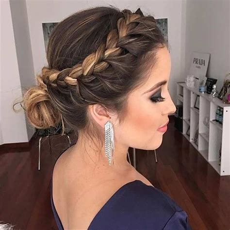 31 most beautiful updos for prom your hair suits and