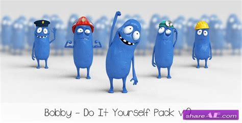 After Effects Product Promo Templates Bobby Character Animation Diy Pack by Videohive Bobby Character Animation Diy Pack After
