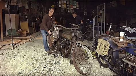 The Coolest Vintage Motorcycle Barn Find Ever!