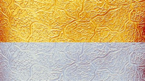 wall putty texture design silver metallic painting
