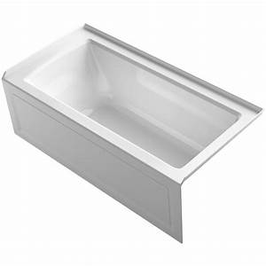 Kohler Archer 60quot X 30quot Alcove Bathtub With Integral Apron