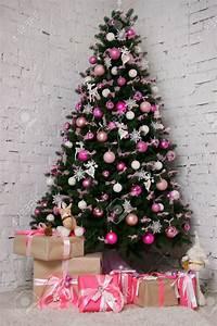 Weihnachtsbaum Geschmückt Modern : weihnachtsbaum rosa pink und wei geschm ckt christmas tree pink rose and white decorated ~ A.2002-acura-tl-radio.info Haus und Dekorationen