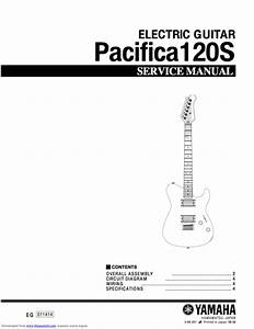 Yamaha Pacifica 120s 120 Electric Guitar Full Service