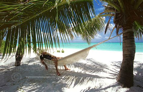 Relaxing On Hammock by Maldives 2016 Wall Calendars Professional Hotel And