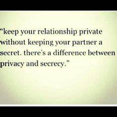 Sayings & Quips... Keep Privacy Quotes
