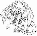Coloring Pages Adult Griffin Animals Phoenix Adults Fantasy Stewie Fantastic Pokemon Chimaera Mythical Getcolorings Animaux Hard Fantastiques Therapy Cool Dragon sketch template