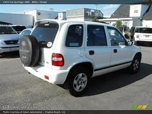 1999 Kia Sportage 4wd In White Photo No  40443637